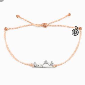 Pura Vida Mountain Bracelet